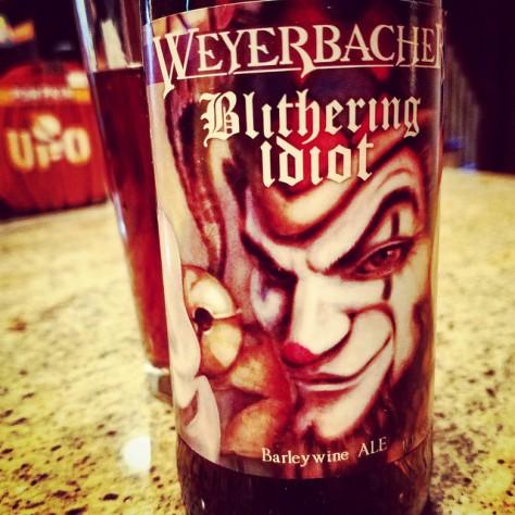 Обзор пива. Weyerbacher Blithering Idiot.