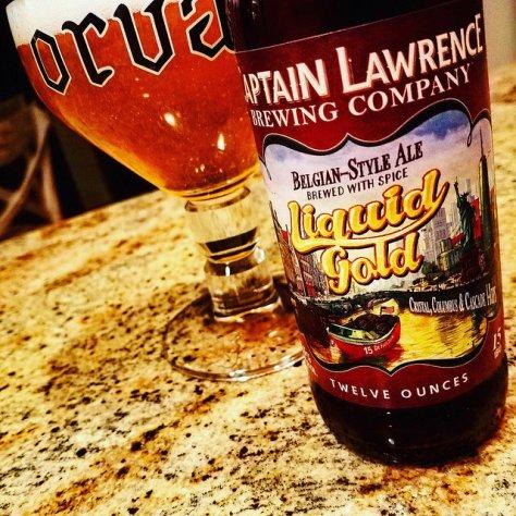 Обзор пива. Captain Lawrence Liquid Gold.