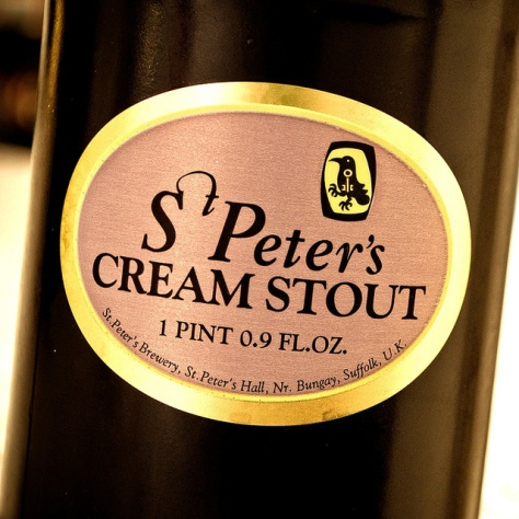 Обзор пива. St. Peter's Cream Stout.