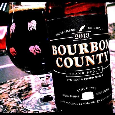 Обзор пива. Goose Island Bourbon County Brand Stout.