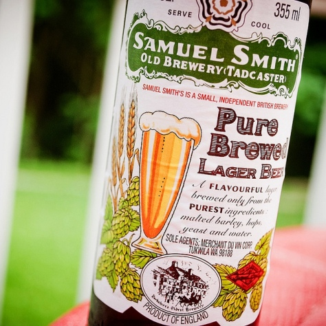 Обзор пива. Samuel Smith's Pure Brewed Lager.