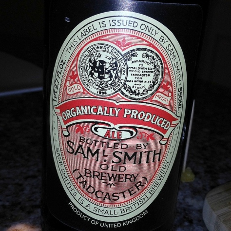 Обзор пива. Samuel Smith's Organically Produced Ale.
