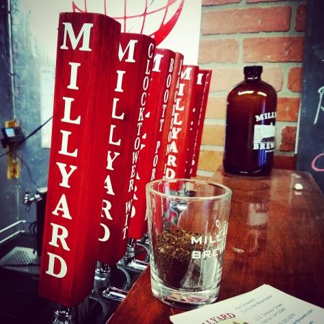 Крафтовая пивоварня. Millyard Brewery.