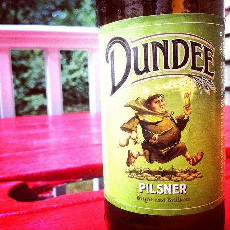 Обзор пива. Genesee Dundee Pilsner.