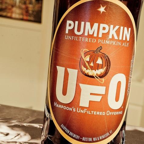 Обзор пива. Harpoon UFO Pumpkin.