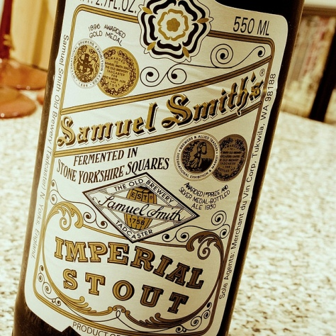 Обзор пива. Samuel Smith's Imperial Stout.