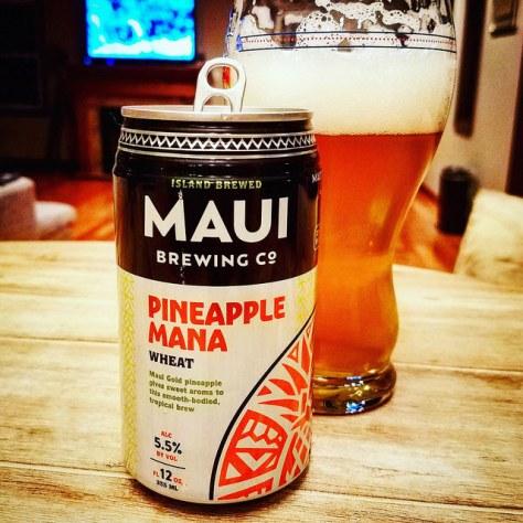 Maui Pineapple Mana. [Обзор пива].