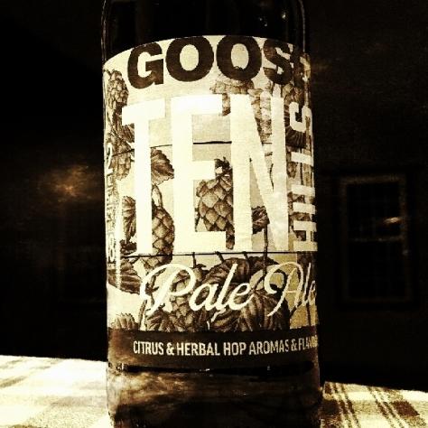 Обзор пива. Goose Island Ten Hills.