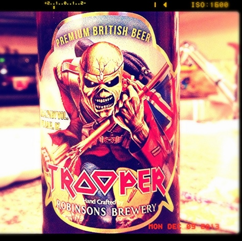 Обзор пива. Robinsons Iron Maiden Trooper.