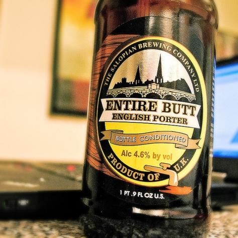 Обзор пива. Salopian Entire Butt.