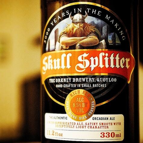 Обзор пива. Orkney Skull Splitter.