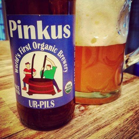 Обзор пива. Pinkus Mueller Organic Ur Pils.
