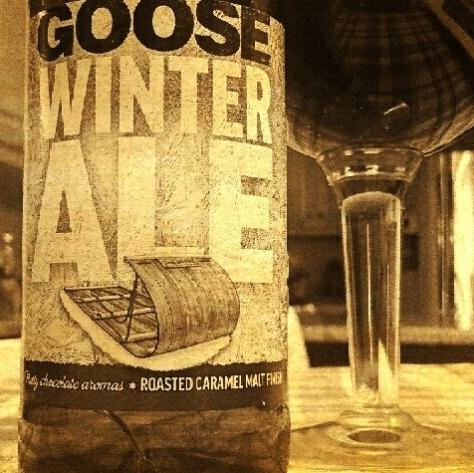 Обзор пива. Goose Island Winter Ale.