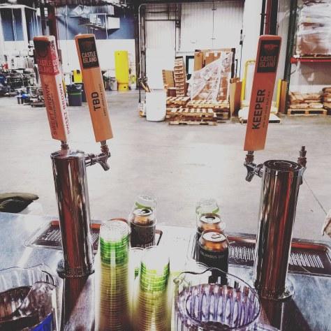 Крафтовая пивоварня. Castle Island Brewery.