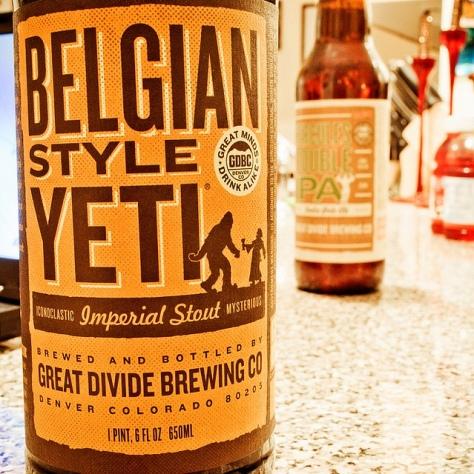 Обзор пива. Great Divide Belgian Style Yeti.