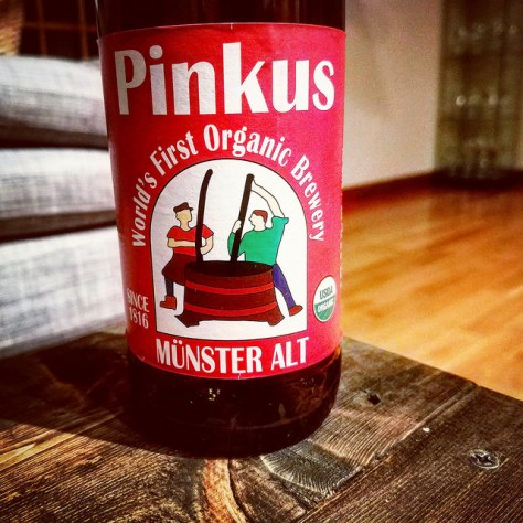 Обзор пива. Pinkus Mueller Organic Münster Alt.