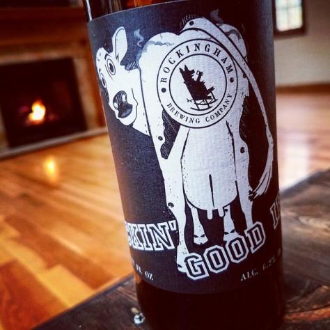 Обзор пива. Rockingham Tuckin Good IPA.
