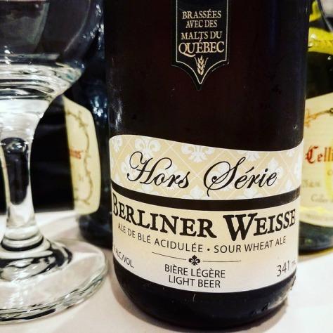 Обзор пива. Les Trois Mousquetaires Hors Série Berliner Weisse.