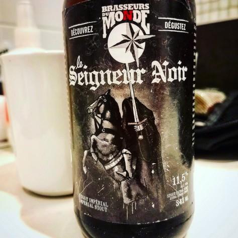 Du Monde Seigneur Noir. [Обзор пива].