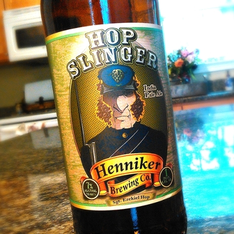 Обзор пива. Henniker Hop Slinger v2.