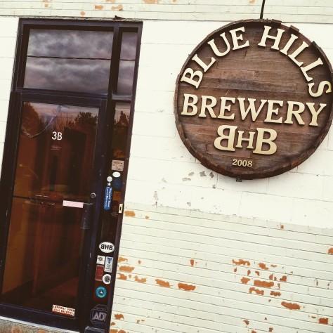 Крафтовая пивоварня. Blue Hills Brewery.