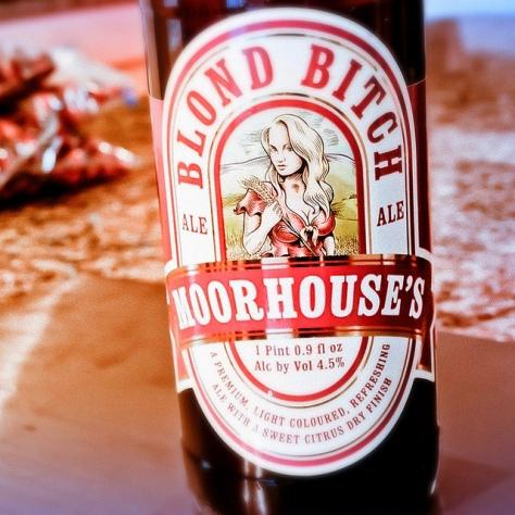 Обзор пива. Moorhouse's Blond Bitch.