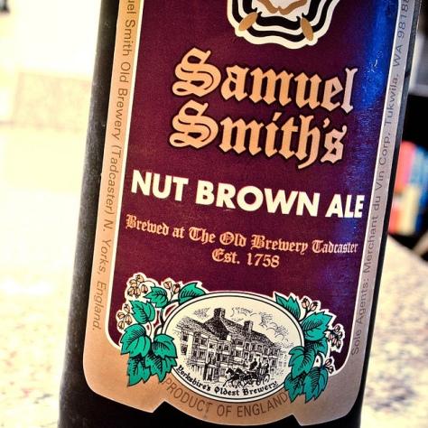 Обзор пива. Samuel Smith's Nut Brown Ale.