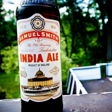 Обзор пива. Samuel Smith's India Ale.