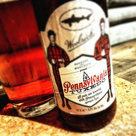 Обзор пива. Dogfish Head Pennsylvania Tuxedo.