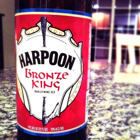 Обзор пива. Harpoon Bronze King.