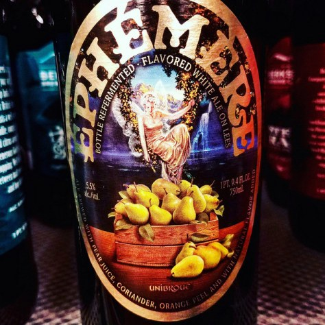 Обзор пива. Unibroue Ephemere Pear.