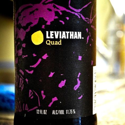 Обзор пива. Harpoon Leviathan Quad.