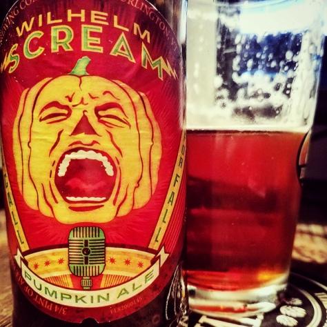 Обзор пива. Magic Hat Wilhelm Scream Pumpkin Ale.