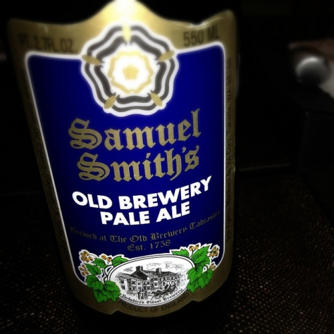 Обзор пива. Samuel Smith's Old Brewery Pale Ale.