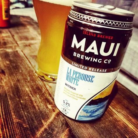 Обзор пива. Maui La Perouse White.