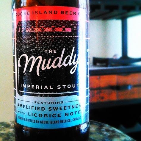 Обзор пива. Goose Island The Muddy.