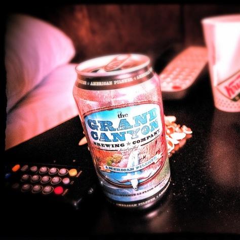 Обзор пива. Grand Canyon American Pilsner.