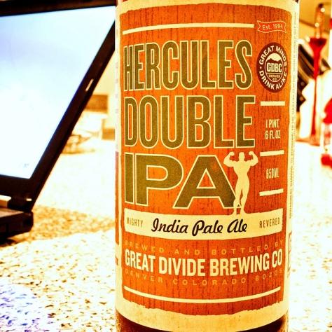 Обзор пива. Great Divide Hercules Double IPA.