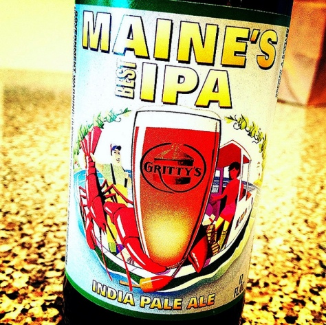 Обзор пива. Gritty McDuff's Maine's Best IPA.