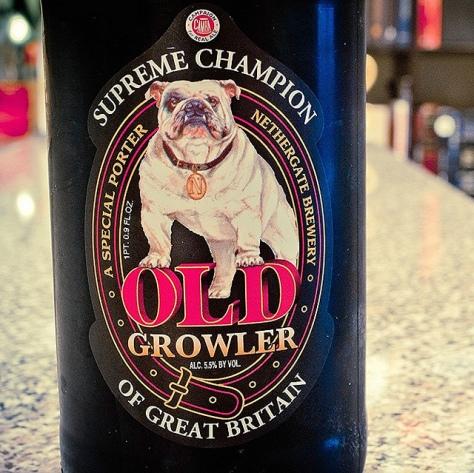 Обзор пива. Nethergate Old Growler.