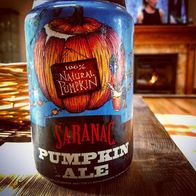 Тыквенный эль. Saranac Pumpkin Ale. Обзор пива.
