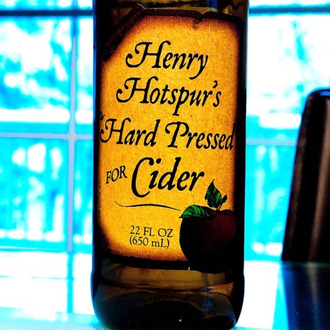 Обзор крепкого сидра. Gordon Biersch Henry Hotspur's Hard Pressed for Cider.
