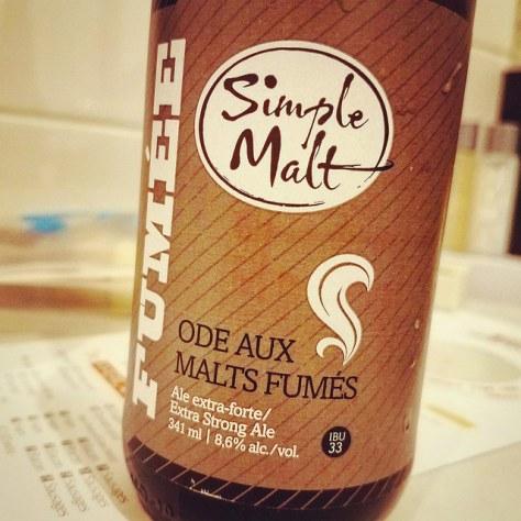 Illimités Simple Malt Fumée. [Обзор пива].