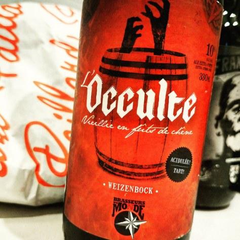Обзор пива. Du Monde L'Occulte.