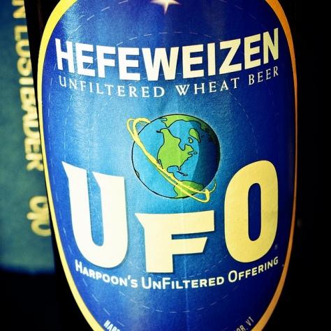 Обзор пива. Harpoon UFO Hefeweizen.