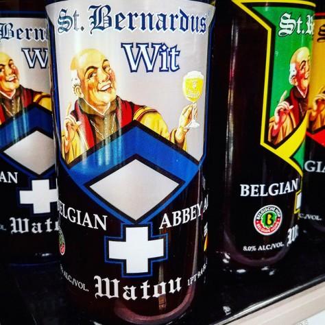 Обзор пива. St. Bernardus Witbier.