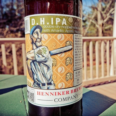 Обзор пива. Henniker D.H. IPA.