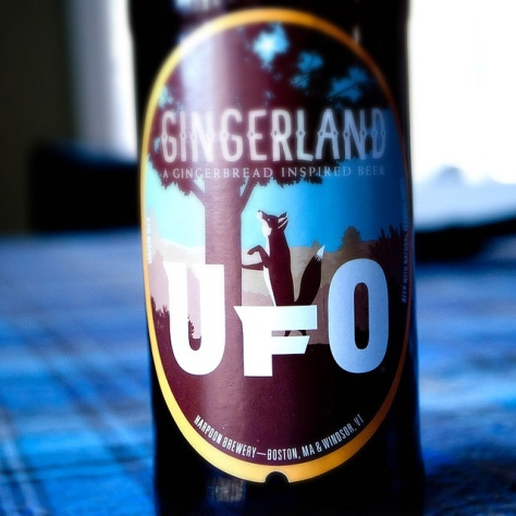 Обзор пива. Harpoon UFO Gingerland.