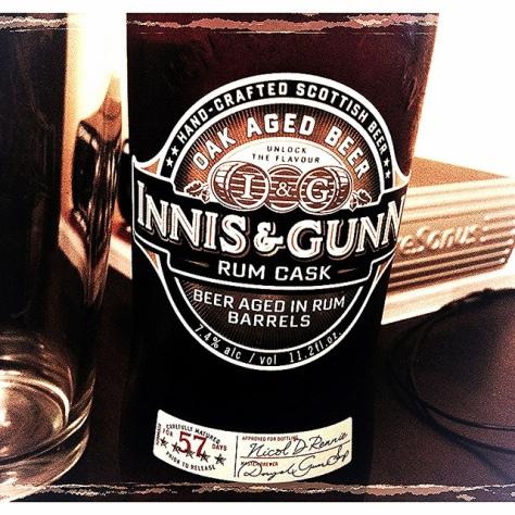 Обзор пива. Innis & Gunn Rum Cask Oak Aged.