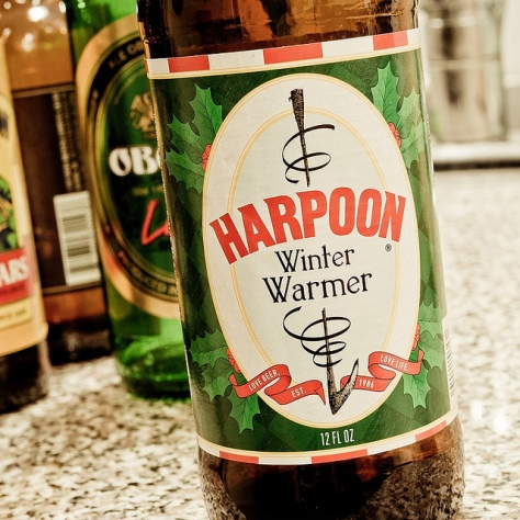 Обзор пива. Harpoon Winter Warmer.